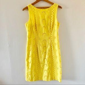 Cheeta B Summer Yellow Cotton Dress